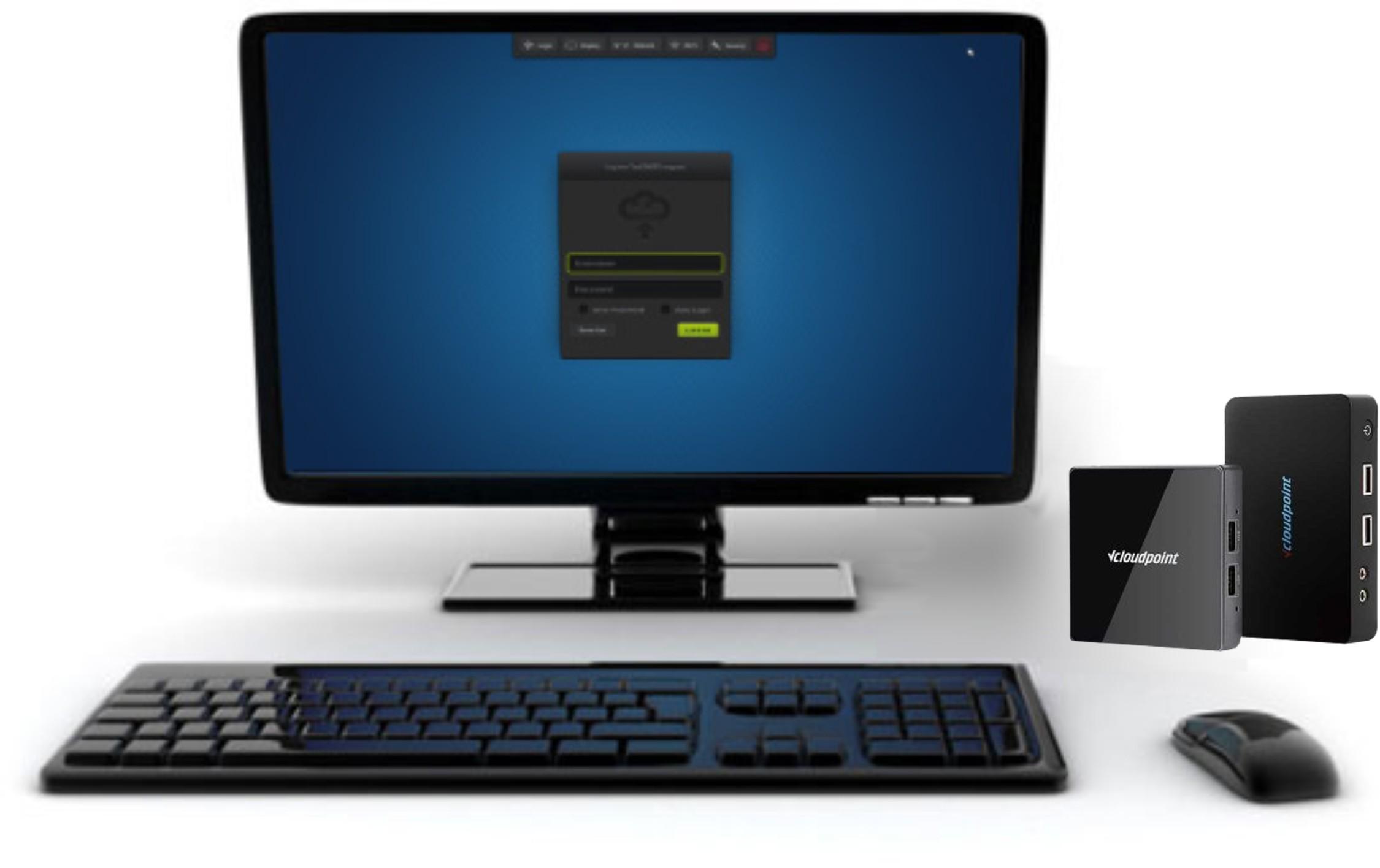 Terminale vCloudPoint S100 vMatrix